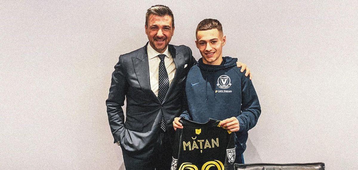 Alexandru Mățan, transfer ratat în MLS. Sursă foto: mls.com