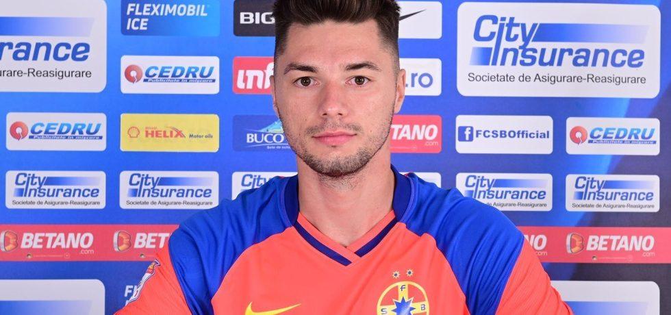 Motivul pentru care Andrei Burlacu nu a debutat pentru FCSB. Sursă foto: fcsb.ro